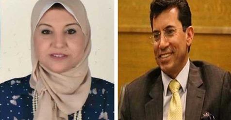 وزير الرياضة يهنئ د/ هانم امير  برئاسة المنطقة الافريقية لمكافحة المنشطات
